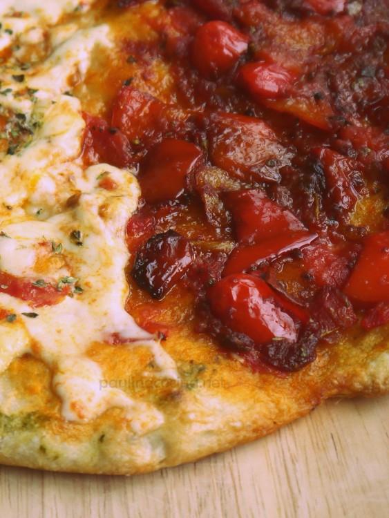 Pizza sin queso: Pizza di pipazzo, la receta de mi nonna