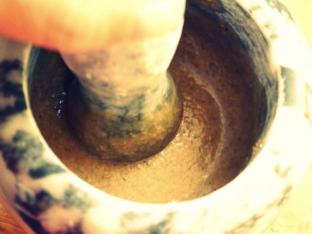 cómo hacer tahini