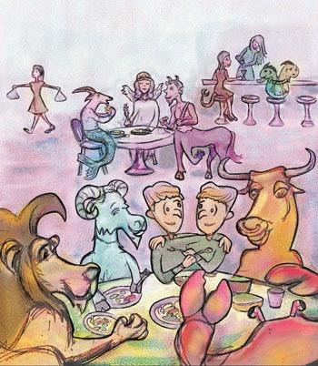 La comida y la mesa según tu signo del zodíaco