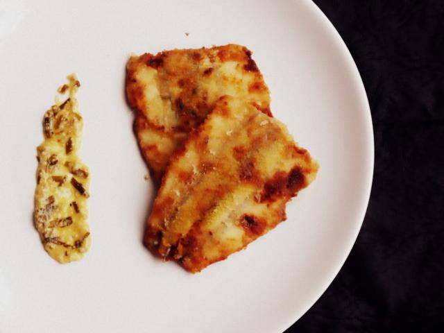 pejerrey frito a la mostaza