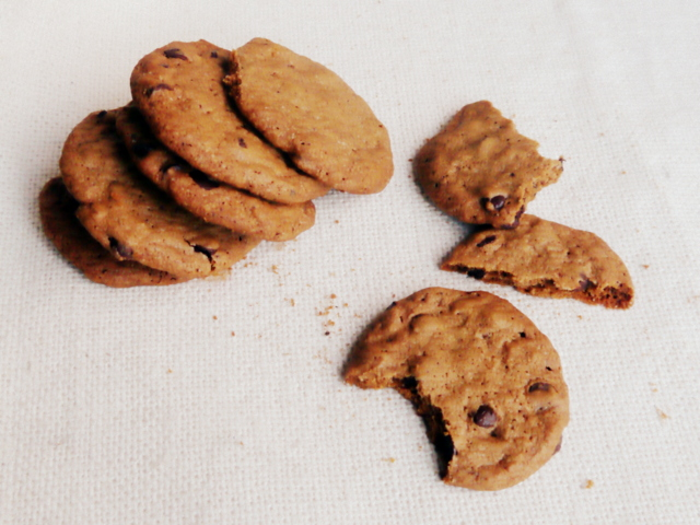 galletitas con chips de chocolate