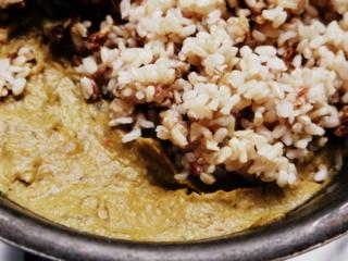 Zapallitos rellenos con arroz y verduras