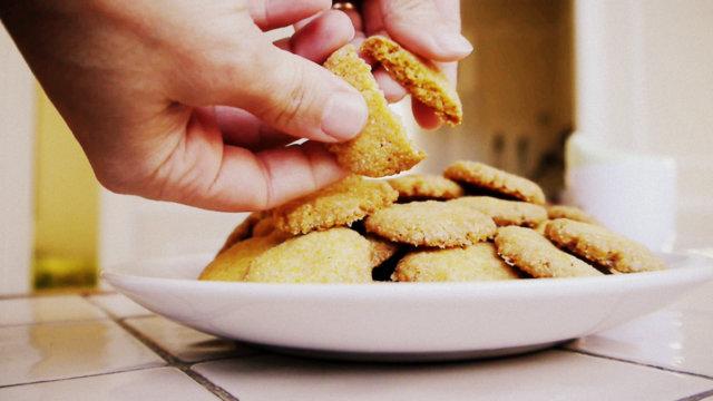 galletitas de polenta