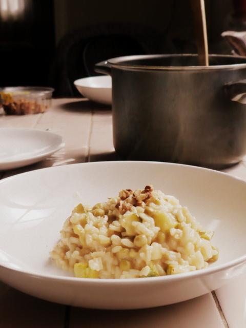 risotto vegetariano