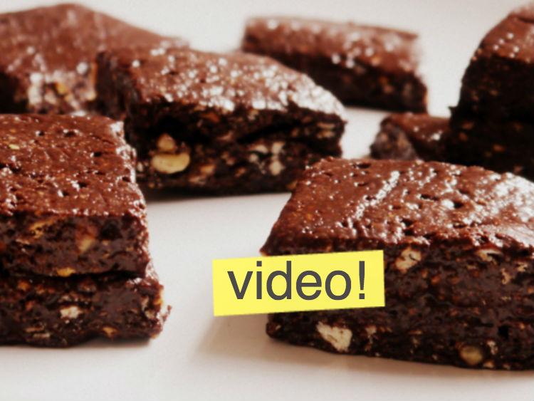 Como Hacer Brownies Sin Horno Super Rápido Página 4525 Paulina Cocina