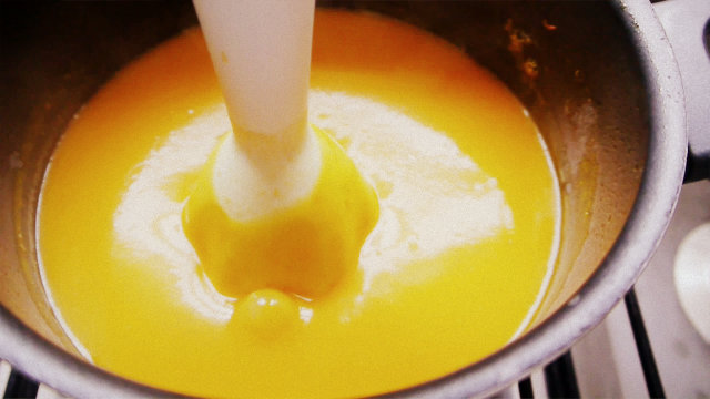 Sopa de Calabaza y Jengibre ¡Light!