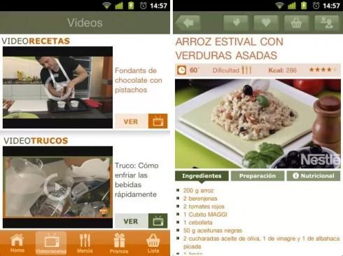 5 Interesantes Aplicaciones de Cocina para tu Android