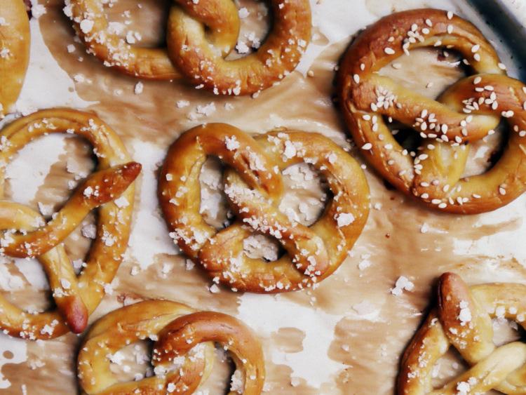 como hacer pretzels