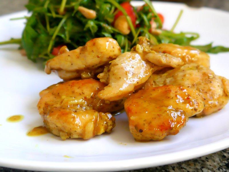 pollo al curry fácil