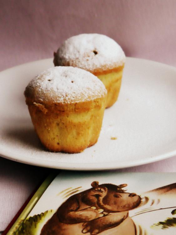 cómo hacer muffins de limón