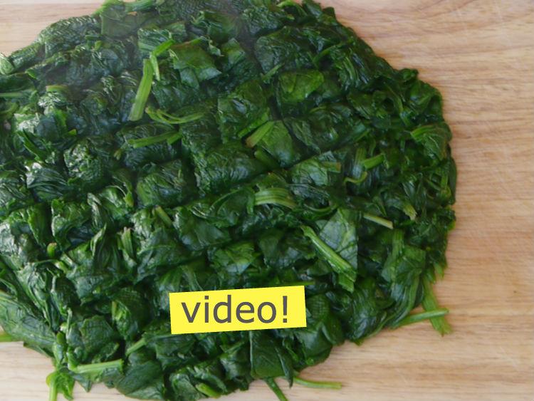 cómo cocinar espinacas al vapor
