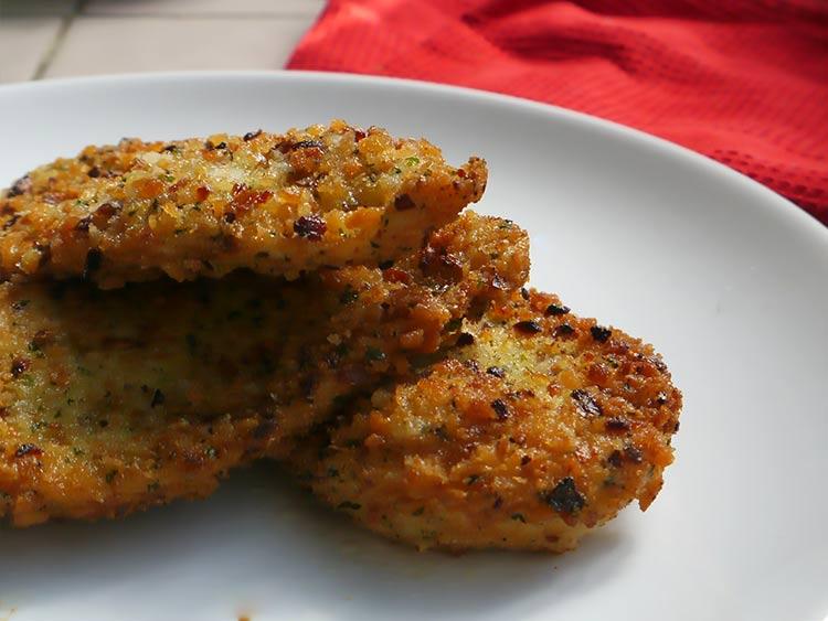 milanesas de pollo