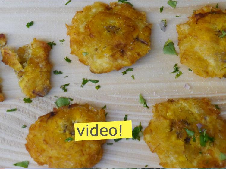 C mo hacer patacones tostones paulina cocina for Crear cocina online