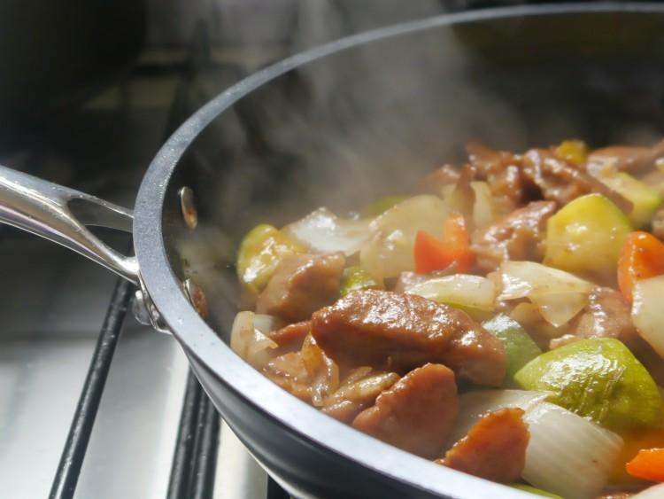 receta de cerdo agridulce chino