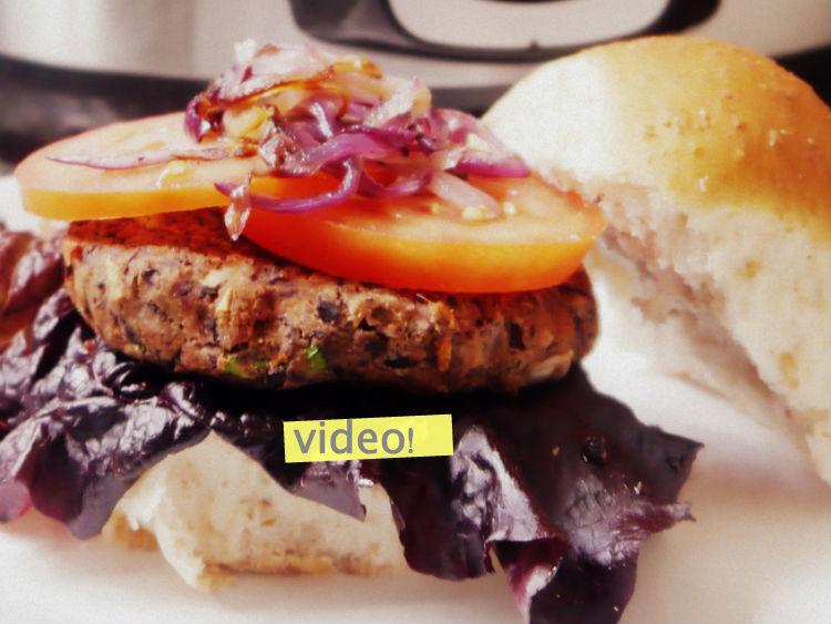 hamburguesas de porotos