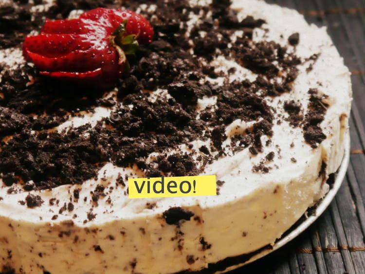 receta de cheesecake sin horno