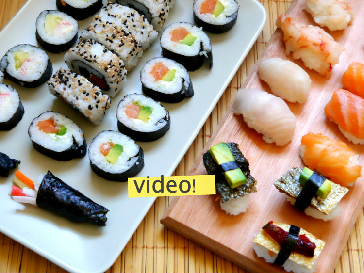 Sushi en casa paso a paso cocina for Menaje cocina japonesa