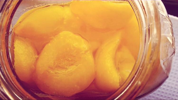 receta de duraznos en almíbar