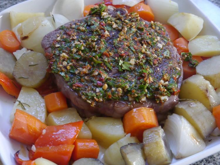 Ojo de bife: método rápido para hacer carne al horno