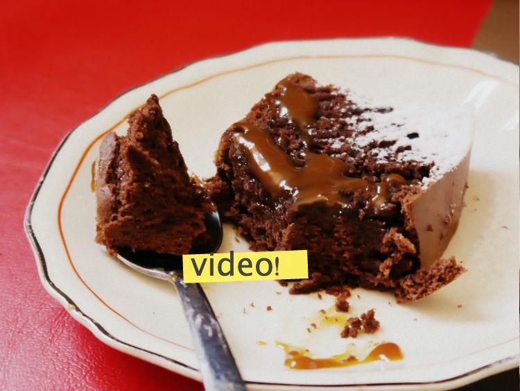 torta de chocolate muy facil