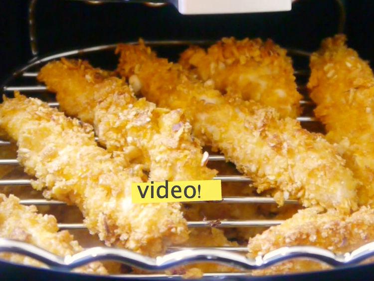 fingers de pollo frito