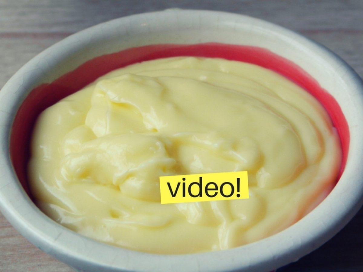 Como Hacer Crema Pastelera Receta En 5 Minutos Reales