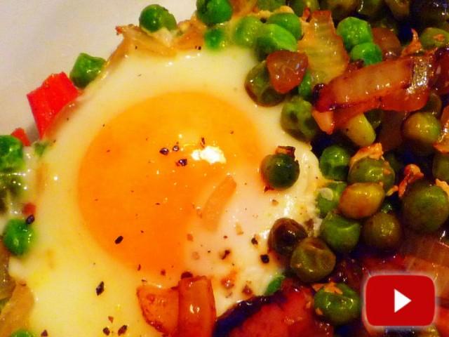 Vitamina D en huevos