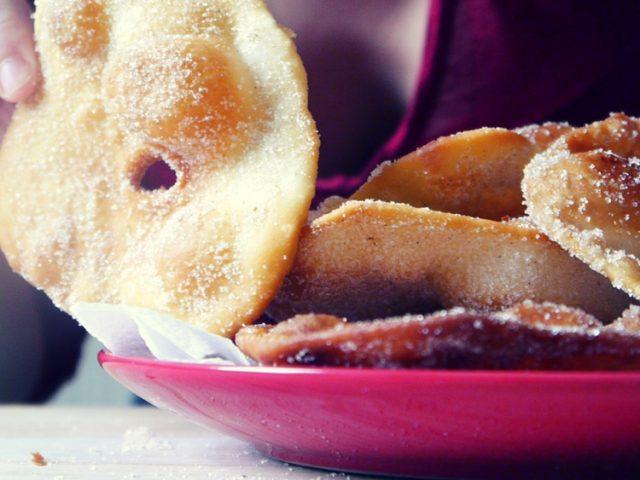 Tortas fritas dulces