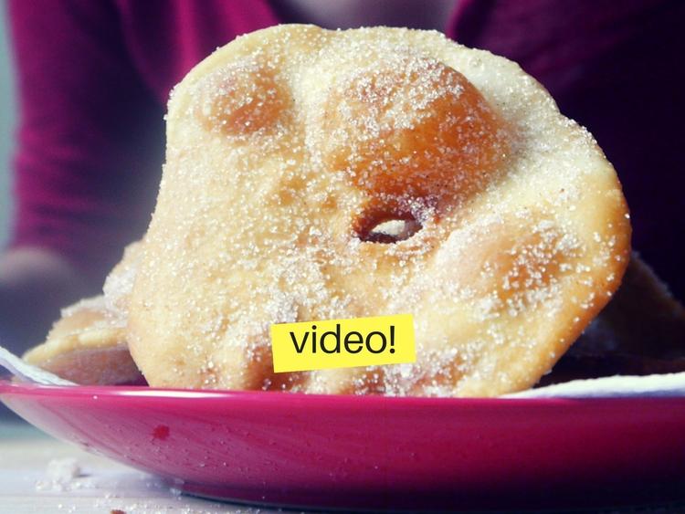 Receta de tortas fritas