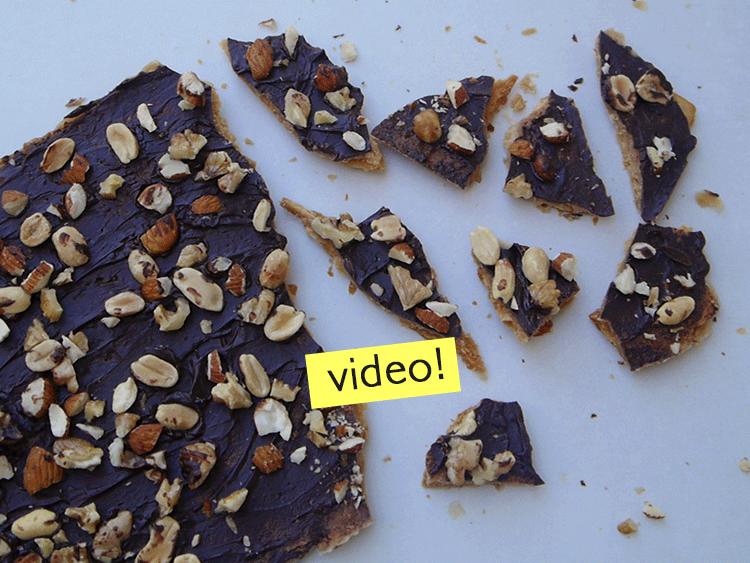 receta navidad chocolate