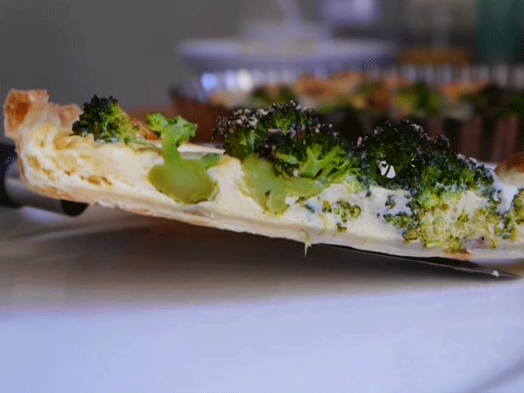 receta tarta brócoli
