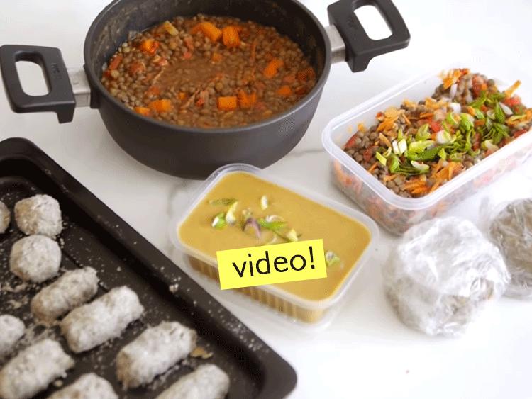 6 recetas con lentejas mealprep paulina cocina - Youtube videos de cocina ...
