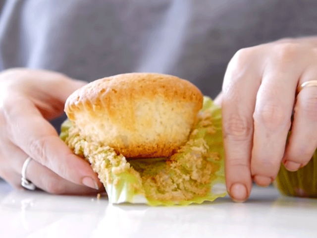 muffins de vainilla