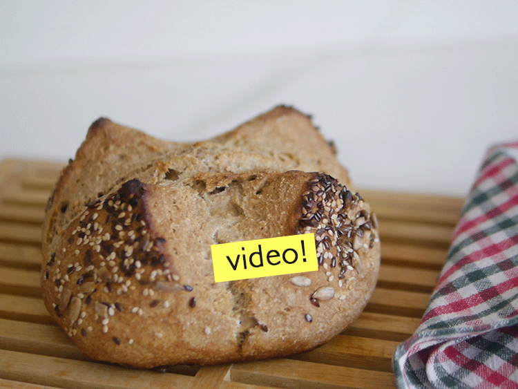 Pan sin levadura y sin amasado ¡Súper rápido!
