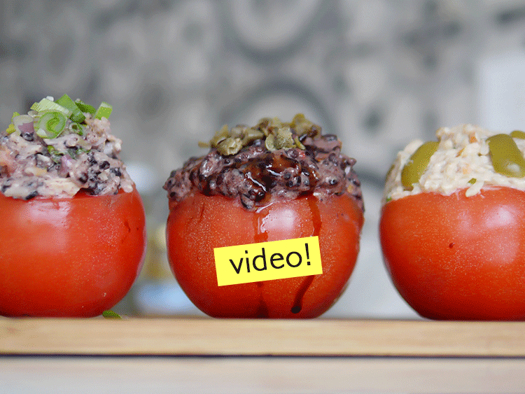 receta de tomates rellenos