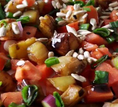 ensalada de berenjenas