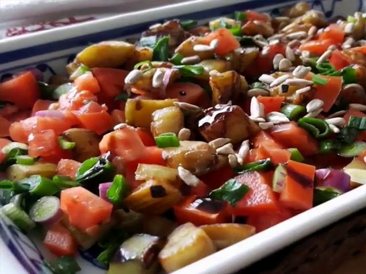 ensalada de berenjena