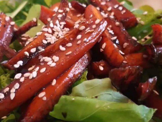 zanahorias caramelizadas